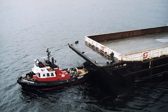 Pix Seaspan tugs and barge