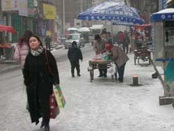Back street in Urumqi