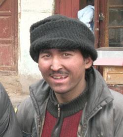 Coalman in Kashgar (pix: Alison Bate)