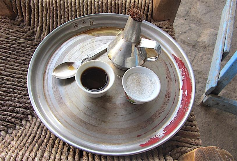 Pix Ethiopian coffee, shown in Kassala, East Sudan