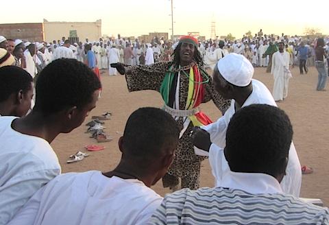 Pix Sufi dancers in Omdurman