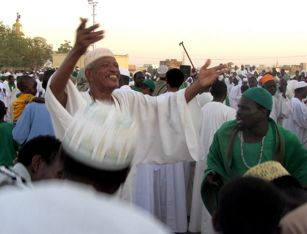 Pix Sufi dancers in Omdurman, Sudan