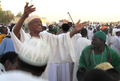 Sufi dancers in Omdurman, Sudan