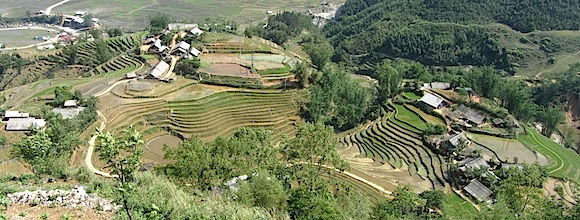"""The village of Ly Lao Chi"""