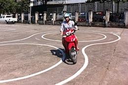 Pix motorbike test