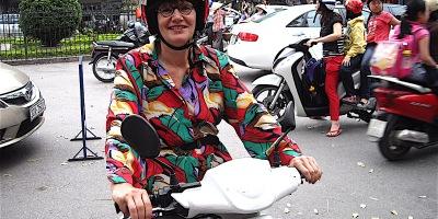Pix Alison Bate in Hanoi