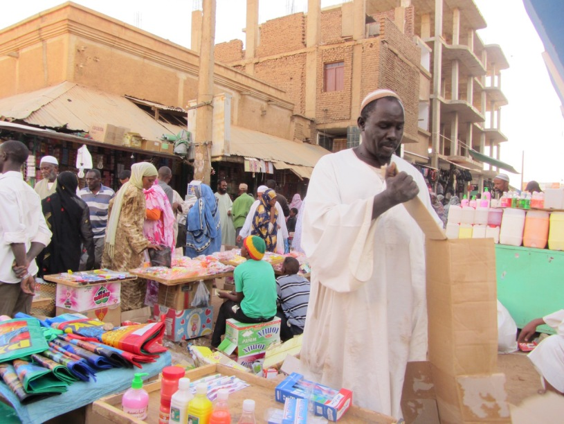Pix market in Khartoum