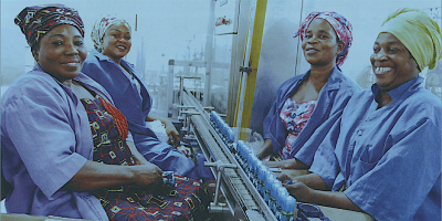 Pix women at Bint el Sudan factory