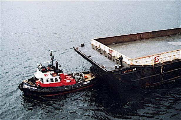 Pix tug and barge