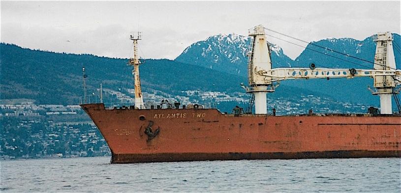 Pix The Atlantis Two stranded in Vancouver Harbour in 1998